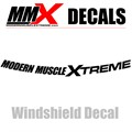 MMX Vinyl Windshield Banner