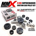Custom 8 Rib Pulley Supercharger Kit for Whipple Superchargers by Modern Muscle