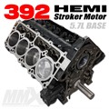392 HEMI Stroker Engine Short Block - 5.7L Based by Modern Muscle Performance
