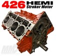 426 HEMI Stroker Engine Short Block - 6.1L Based by Modern Muscle Performance