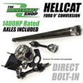 Hellcat Charger 9inch Rear Differential Conversion Package by DSS - Automatic Transmission