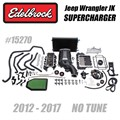 2012-2017 Jeep Wrangler JK Supercharger by Edelbrock - No Tune