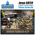 2006-2010 Jeep SRT 76mm Turbo kit by Demon Performance - Complete Kit