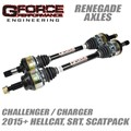 2015-2019 Challenger / Charger Renegade Axles by Gforce Performance