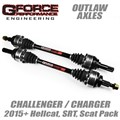 2015-2019 Challenger / Charger Outlaw Axles by Gforce Performance