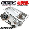 Hellcat 6.2L and 6.4L HEMI Performance Front Sump Oil Pan by Stef's