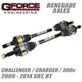 2009-2014 Challenger / Charger Renegade Axles by Gforce Performance