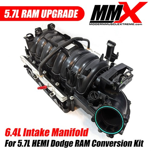 6 4l Hemi Intake Manifold For 5 7l Ram Upgrade Kit By Mmx