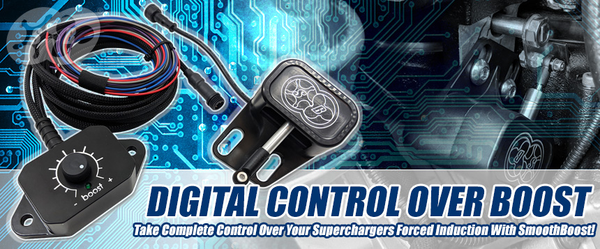 SmoothBoost Supercharger Controller Exclusively Sold at Modern Muscle Xtreme!