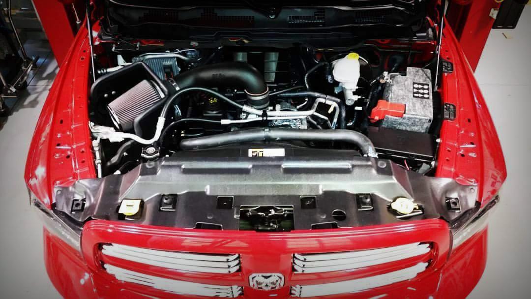 Bills Edelbrock Supercharged HEMI Powered 2015 Ram Truck
