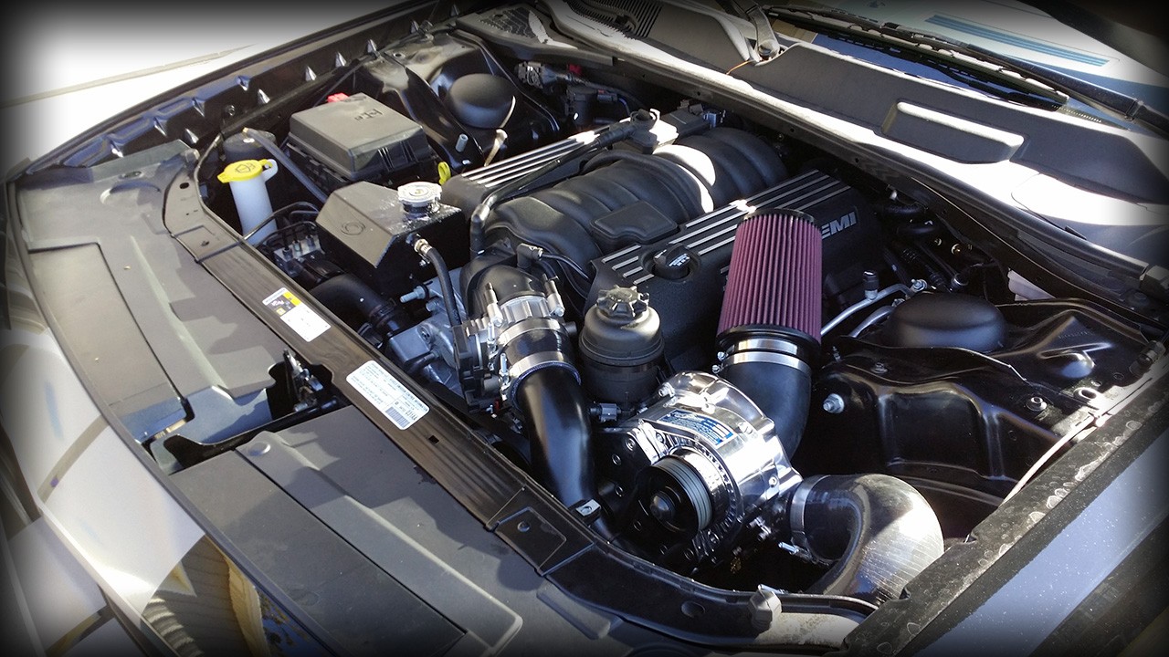 Challenger SRT8 Procharger Supercharged build by Modern Muscle ...