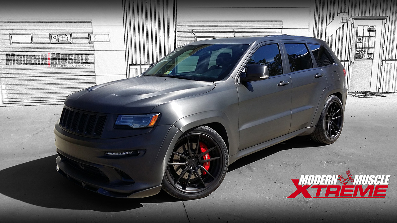 2014 - Built 392 HEMI Whipple Supercharged Jeep SRT8 Build by Modern Muscle Performance