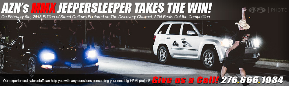 On February 5th, 2018 Edition of Street Outlaws Featured on The Discovery Channel, AZN Beats Out the Competition