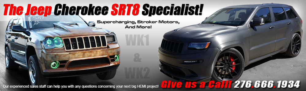 ModernMuscleXtreme The Jeep SRT8 Specialists!