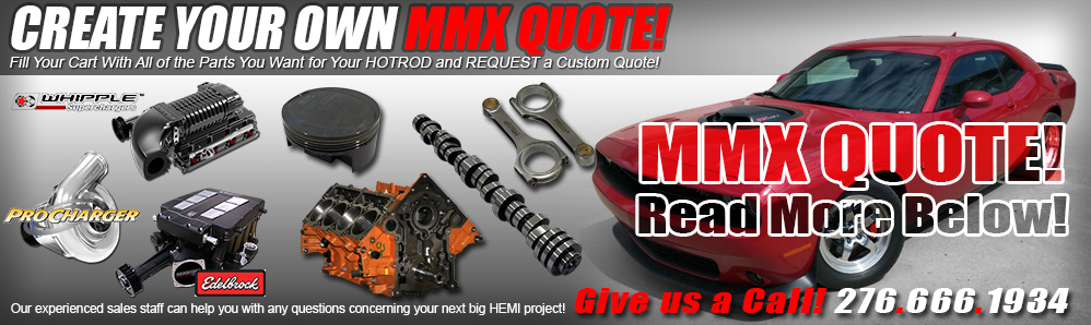 Fill Your Cart and Request a Custom Quote from MMX!