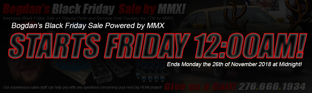 Black Friday Sale Powered by MMX!