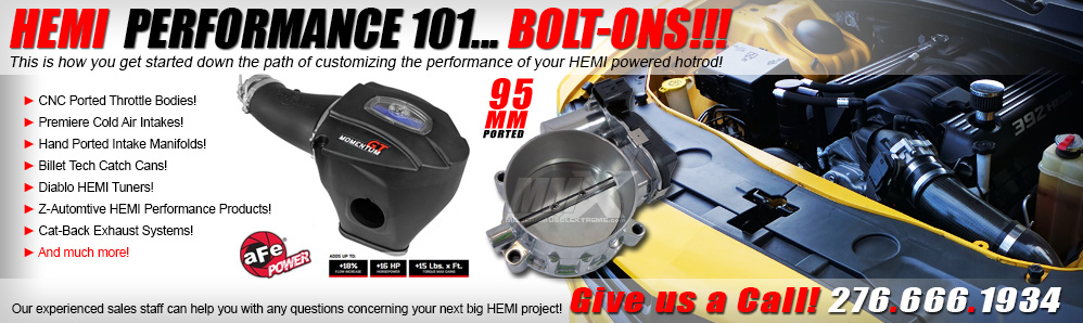 ModernMuscleXtreme HEMI Performance Bolt-On Parts