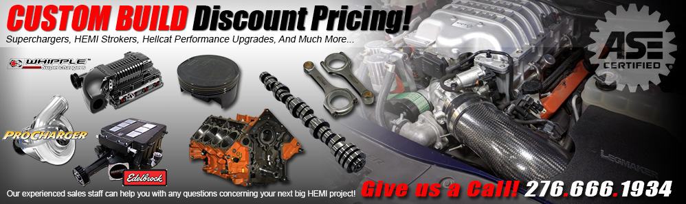 ModernMuscleXtreme Custom HEMI Build Pricing!