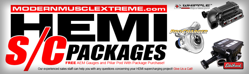 ModernMuscleXtreme HEMI Supercharger Packages!