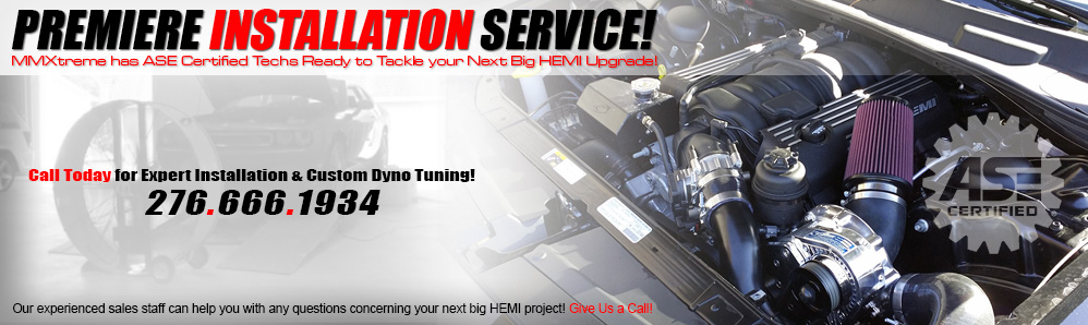 ASE Certified Premiere HEMI and HEMI Performance Parts Installations Services Provided by Modern Muscle Performance!