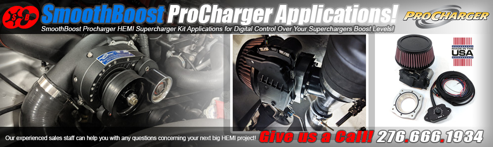 SmoothBoost Procharger Supercharger Digital Boost Control Kits!