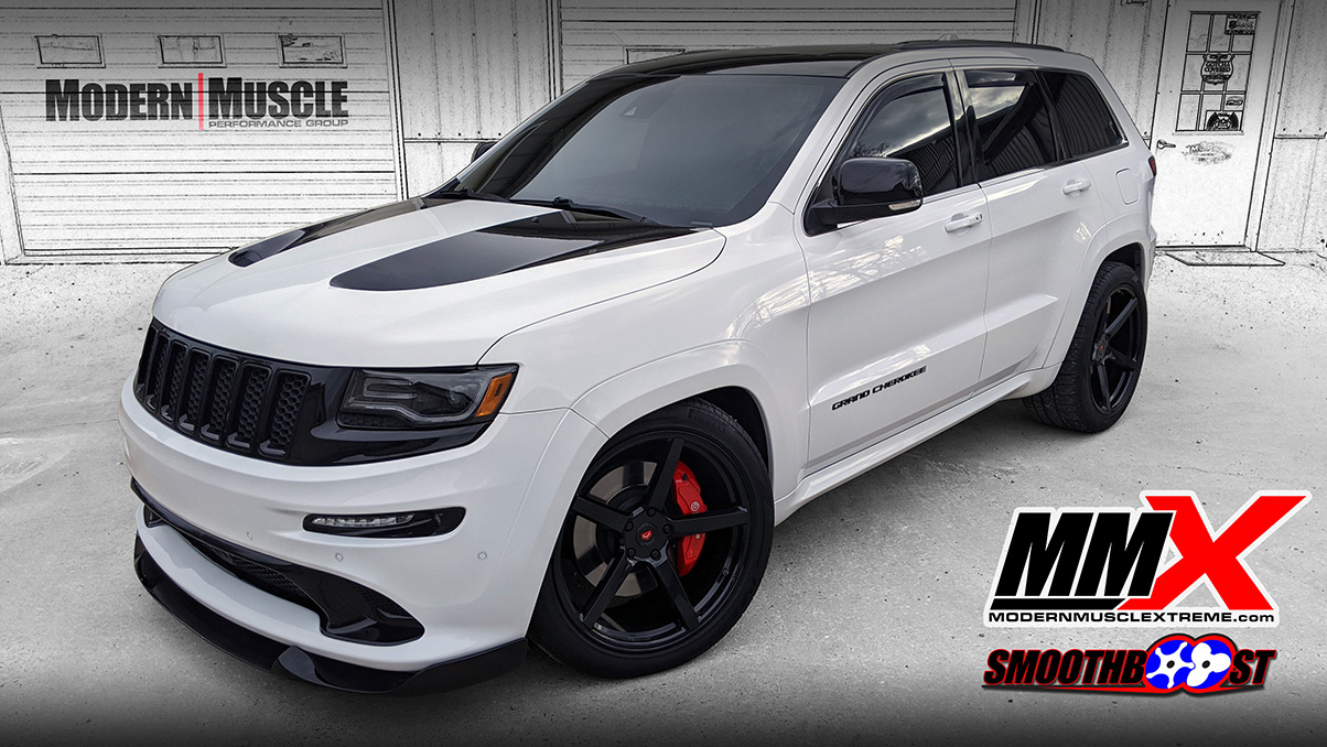 2014 Jeep SRT Built HEMI 392 Gen4 2.9L Whipple Supercharged Install and More by MMX / ModernMuscleXtreme.com