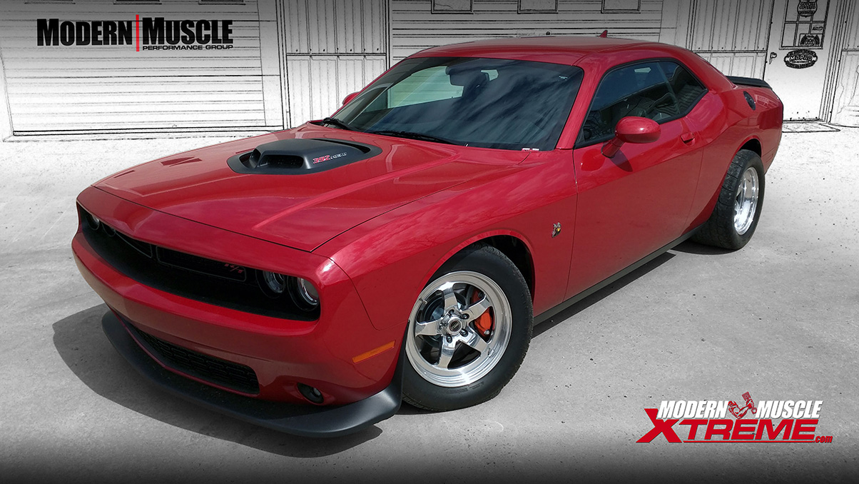 2017 Challenger Scatpack With New NSR Performance Camshaft & Long Tube Headers Build by Modern Muscle Performance